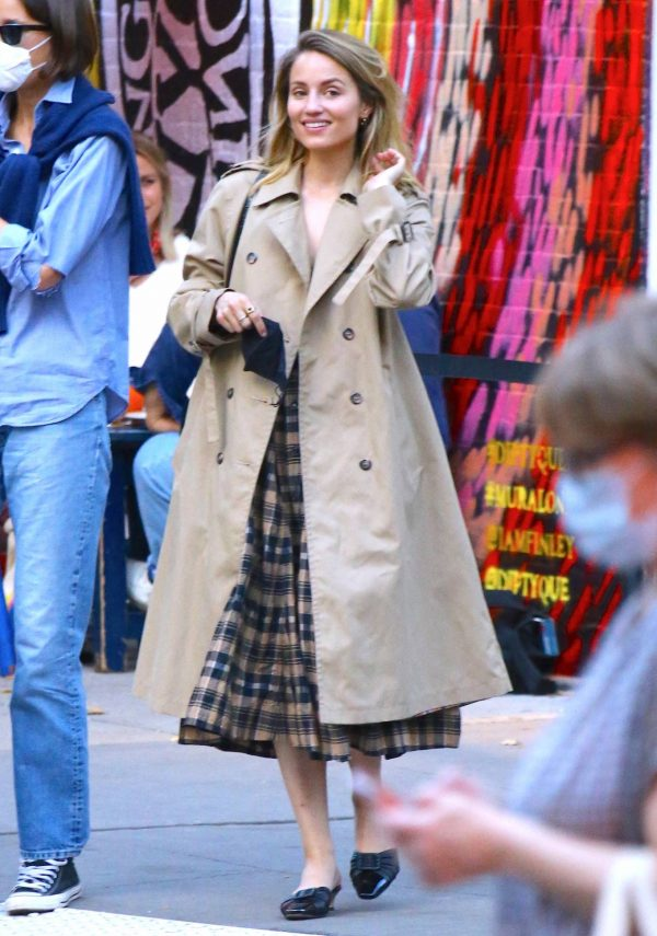 Dianna Agron Spotted with a friend in NYC 02