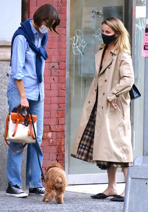 Dianna Agron Spotted with a friend in NYC 04