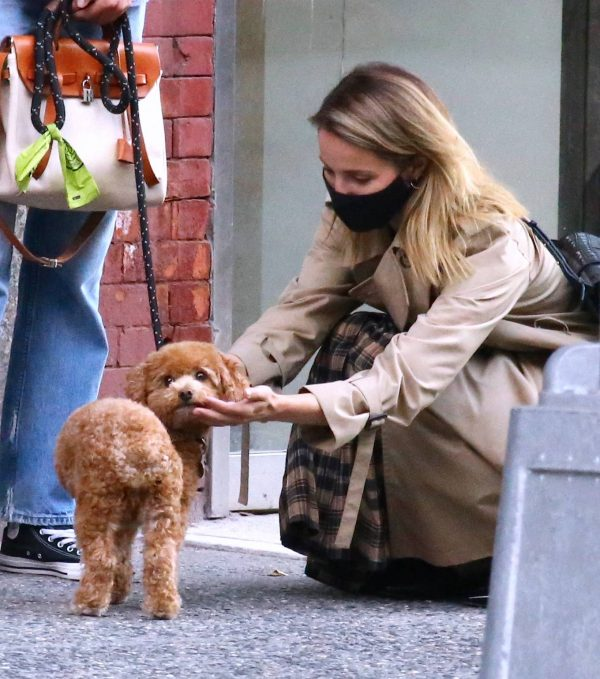 Dianna Agron Spotted with a friend in NYC 05