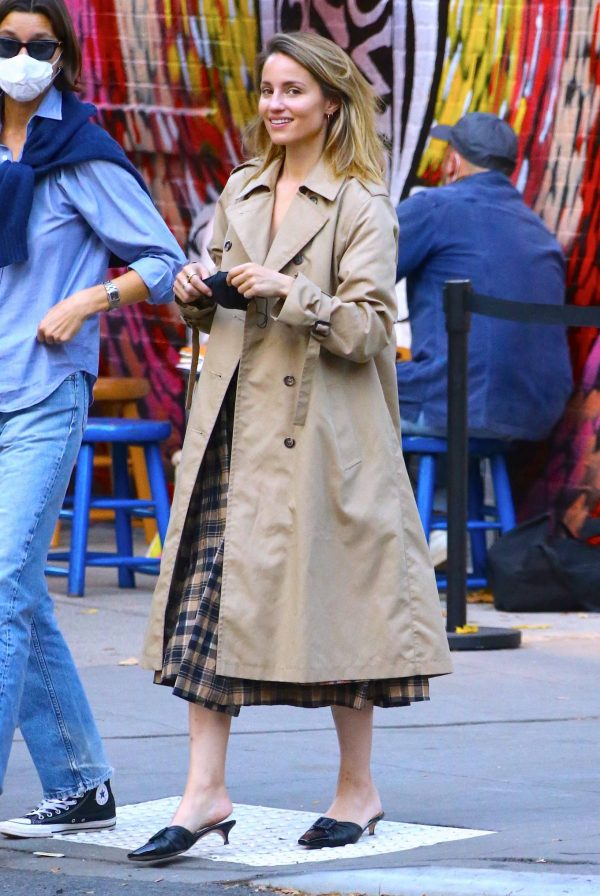 Dianna Agron Spotted with a friend in NYC 06