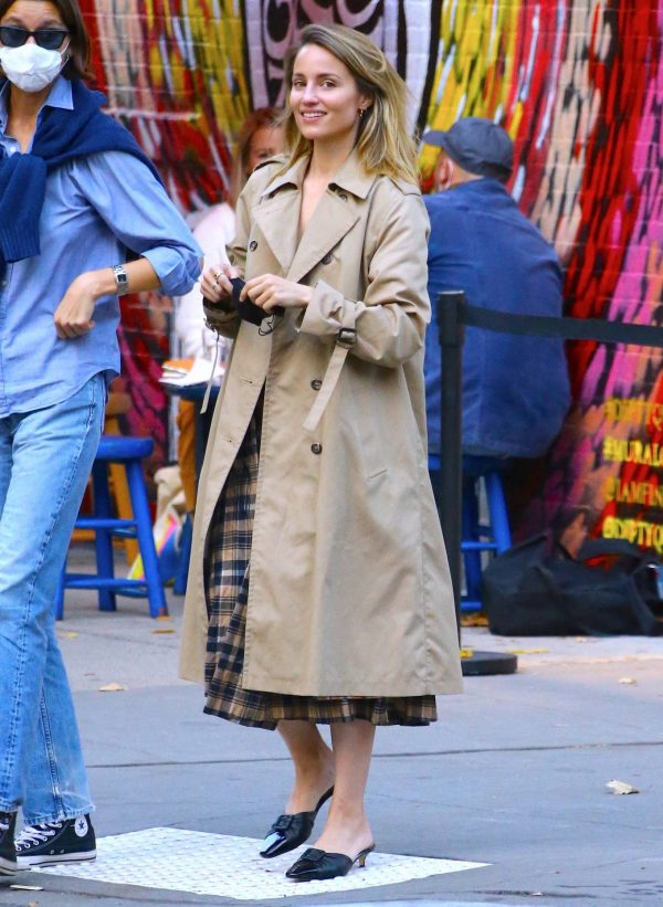 Dianna Agron Spotted with a friend in NYC 11