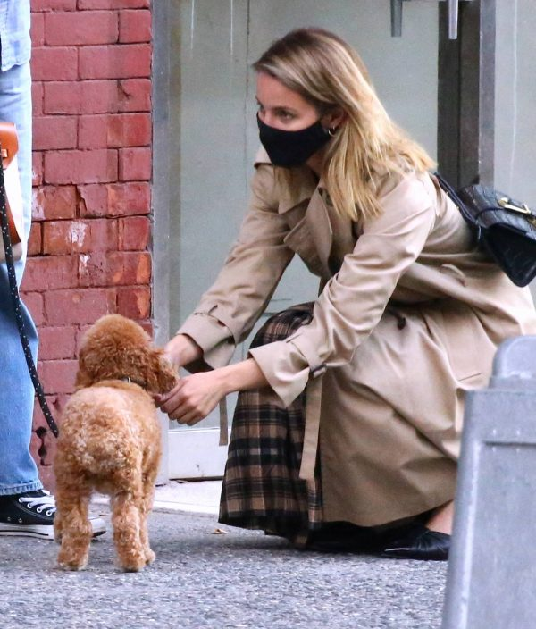 Dianna Agron Spotted with a friend in NYC 12