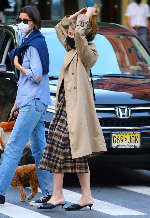 Dianna Agron Spotted with a friend in NYC 14
