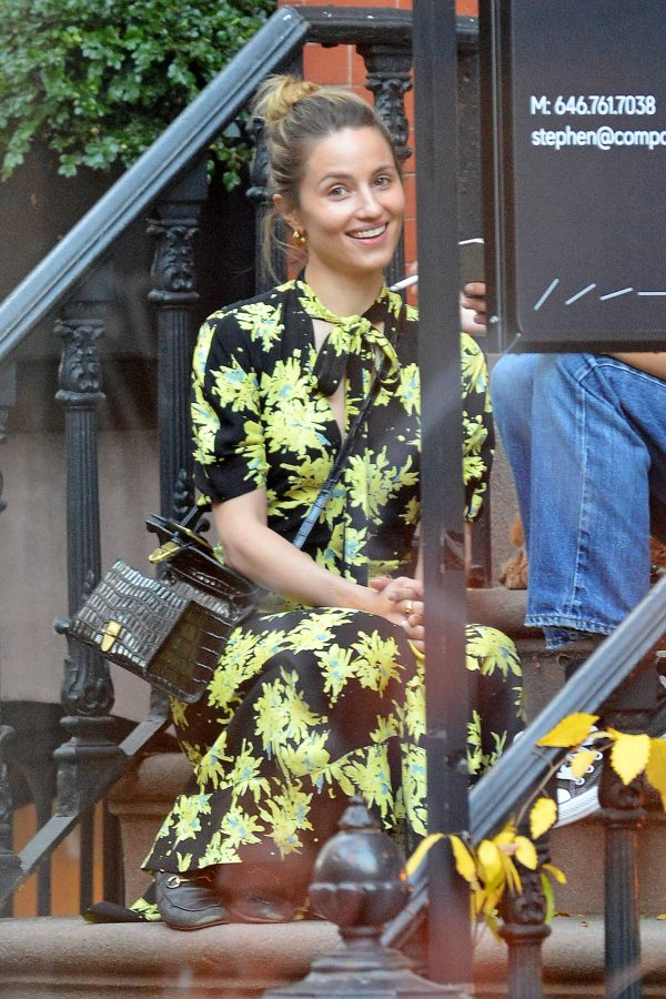 Dianna Agron Withe friend out in New York 06