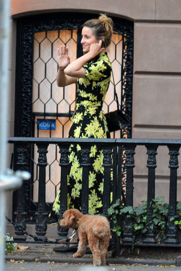 Dianna Agron Withe friend out in New York 11