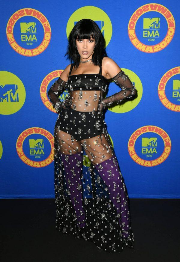 Doja Cat 2020 MTV EMAs in Los Angeles 05