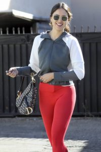 Eiza Gonzalez Looks sporty while going to a workout in Los Angeles 15