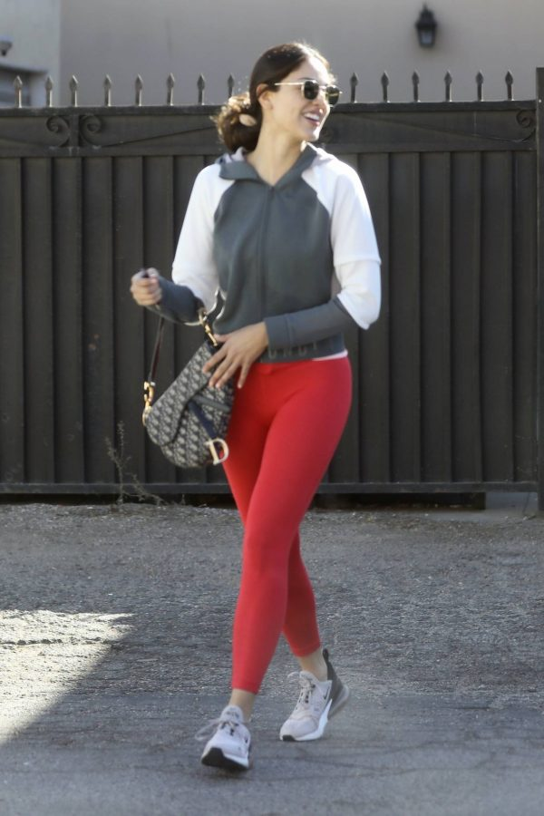 Eiza Gonzalez Looks sporty while going to a workout in Los Angeles 17