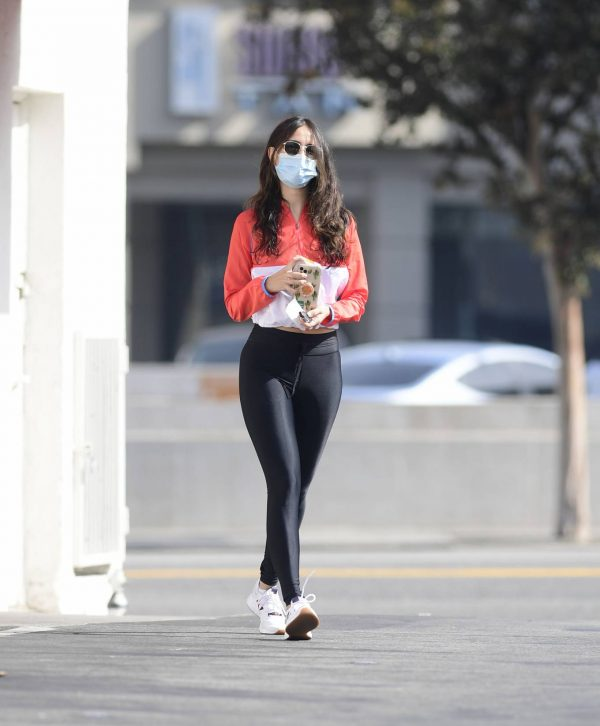 Eiza Gonzalez Spotted while out for a coffee in Los Angeles 14
