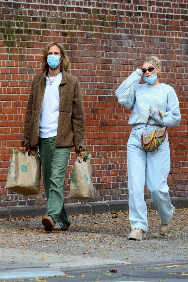 Elsa Hosk with her husband seen after having lunch at the Smile in New York 14