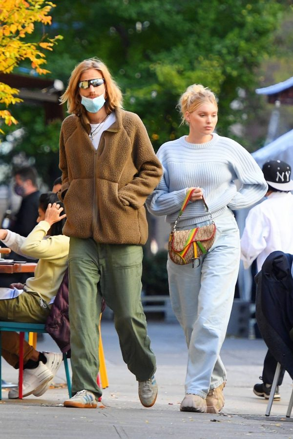 Elsa Hosk with her husband seen after having lunch at the Smile in New York 16