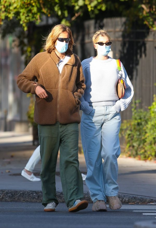 Elsa Hosk with her husband seen after having lunch at the Smile in New York 23