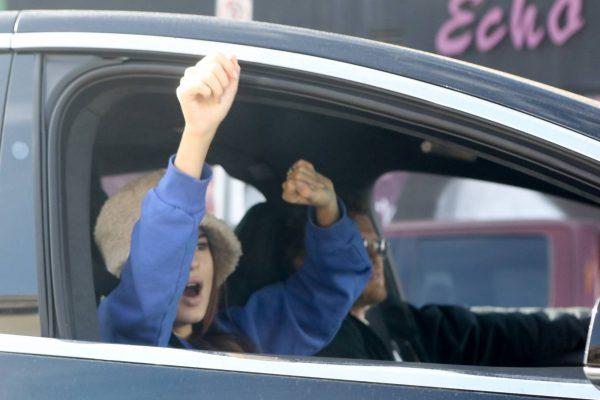 Emily Ratajkowski celebrates Joe Bidens win with her husband in Los Angeles 05
