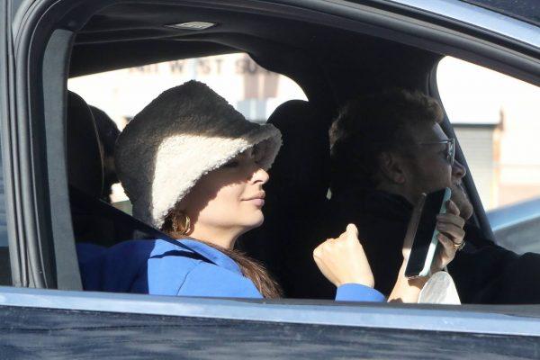 Emily Ratajkowski celebrates Joe Bidens win with her husband in Los Angeles 06