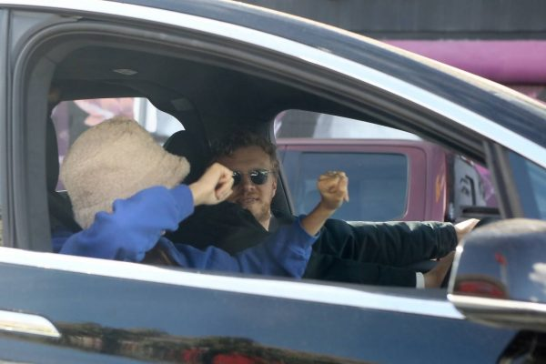 Emily Ratajkowski celebrates Joe Bidens win with her husband in Los Angeles 08