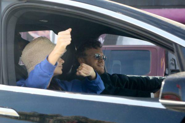 Emily Ratajkowski celebrates Joe Bidens win with her husband in Los Angeles 09
