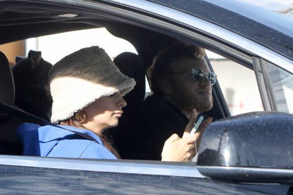 Emily Ratajkowski celebrates Joe Bidens win with her husband in Los Angeles 14
