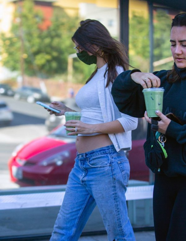 Emily Ratajkowski shopping candids with a friend in Los Angeles 14