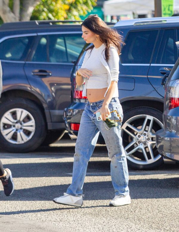 Emily Ratajkowski shopping candids with a friend in Los Angeles 18