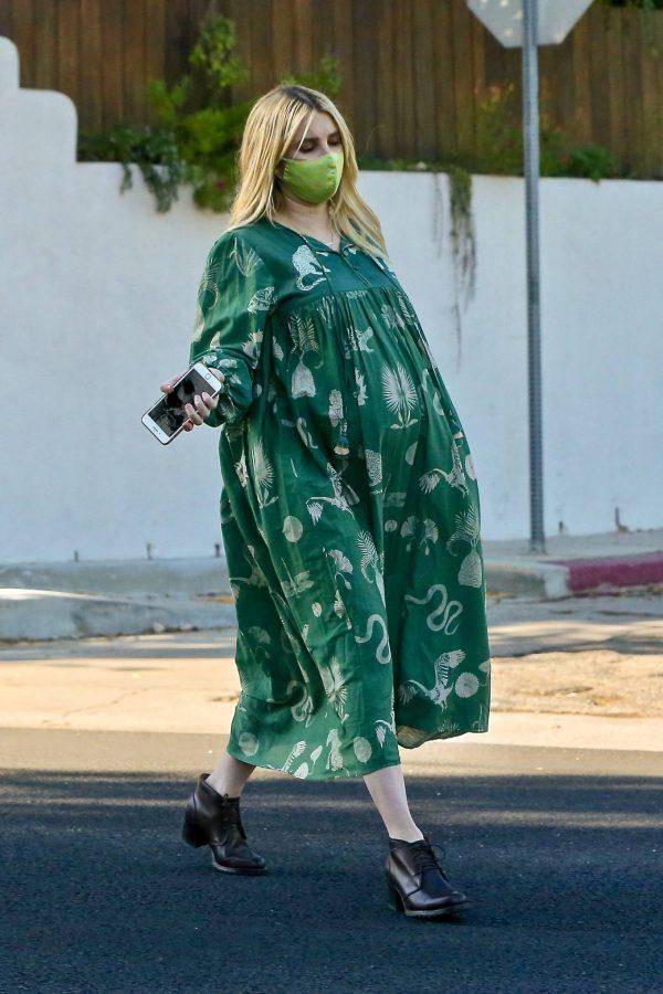 Emma Roberts Seen while leaves her home in Los Feliz 04