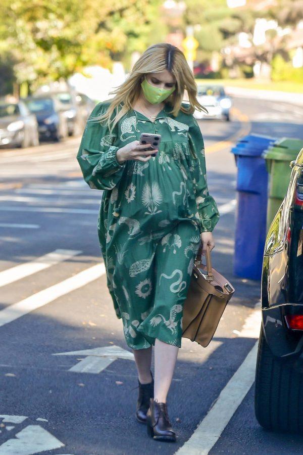 Emma Roberts Seen while leaves her home in Los Feliz 05