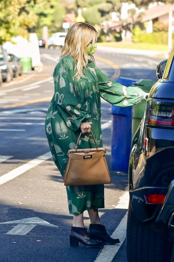 Emma Roberts Seen while leaves her home in Los Feliz 08