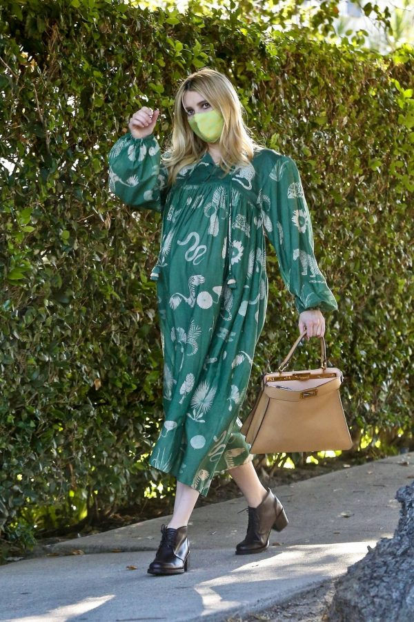 Emma Roberts Seen while leaves her home in Los Feliz 12