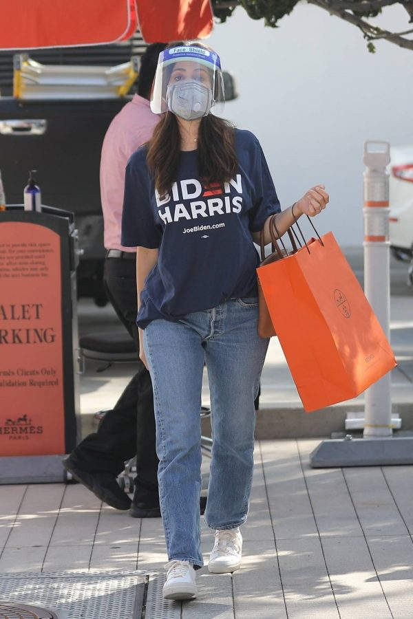 Emmy Rossum Shopping candids at Hermes on Rodeo Dr. in Beverly Hills 01