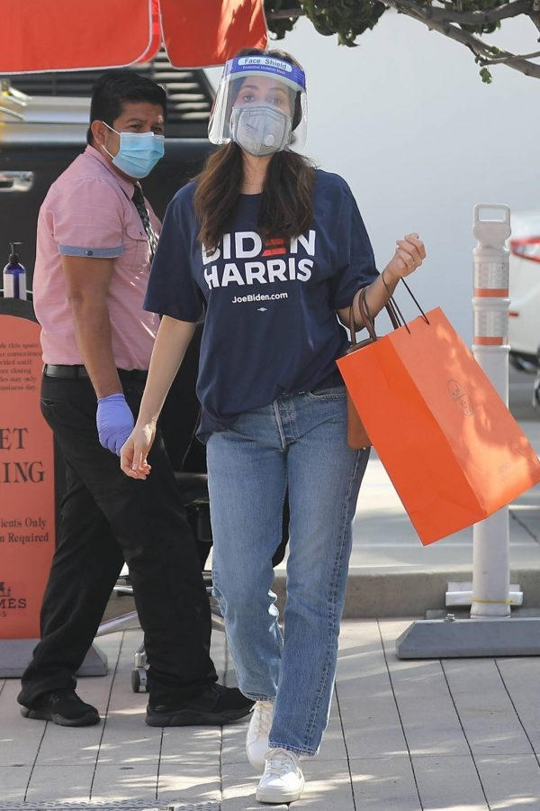 Emmy Rossum Shopping candids at Hermes on Rodeo Dr. in Beverly Hills 04