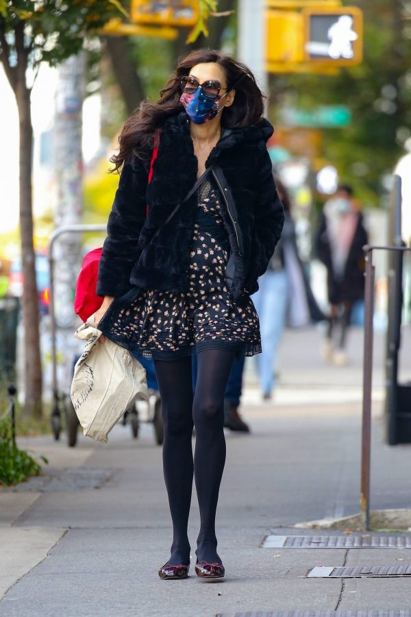 Famke Janssen Look stylish while out in NYC 12
