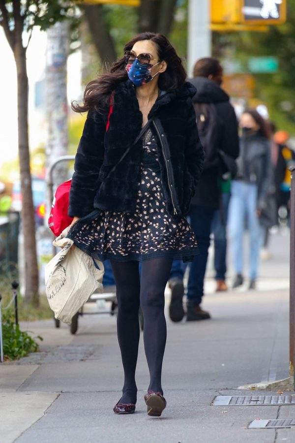 Famke Janssen Look stylish while out in NYC 14