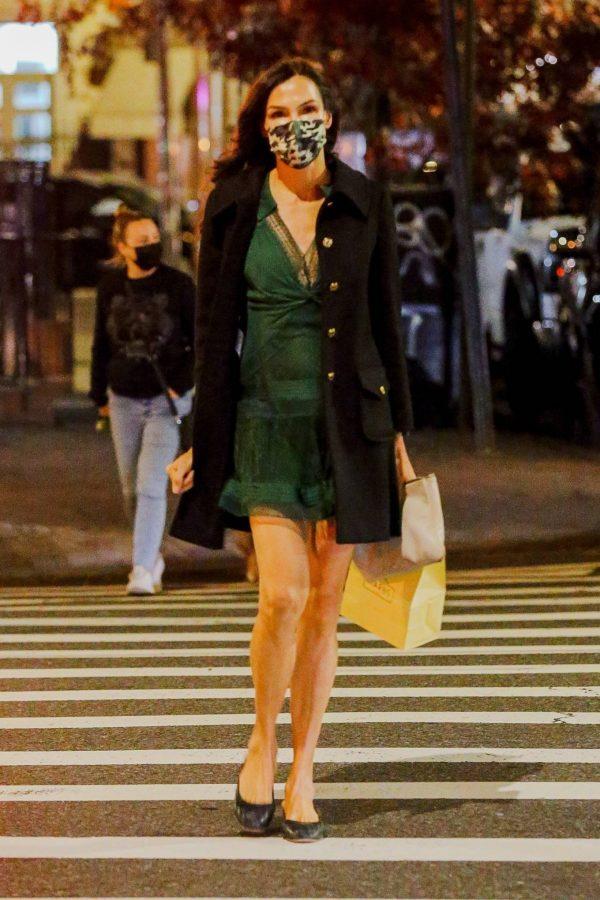Famke Janssen Running errands on her birthday in New York 01