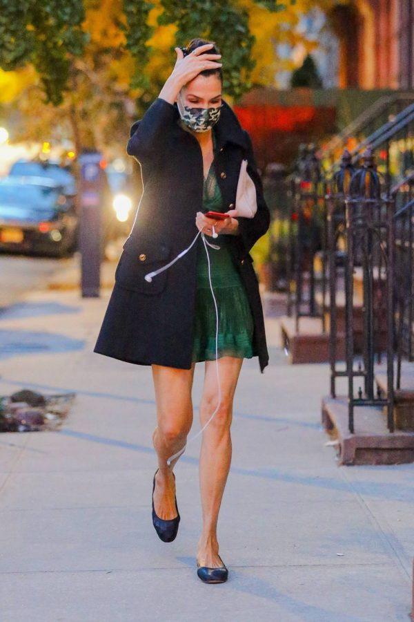 Famke Janssen Running errands on her birthday in New York 04