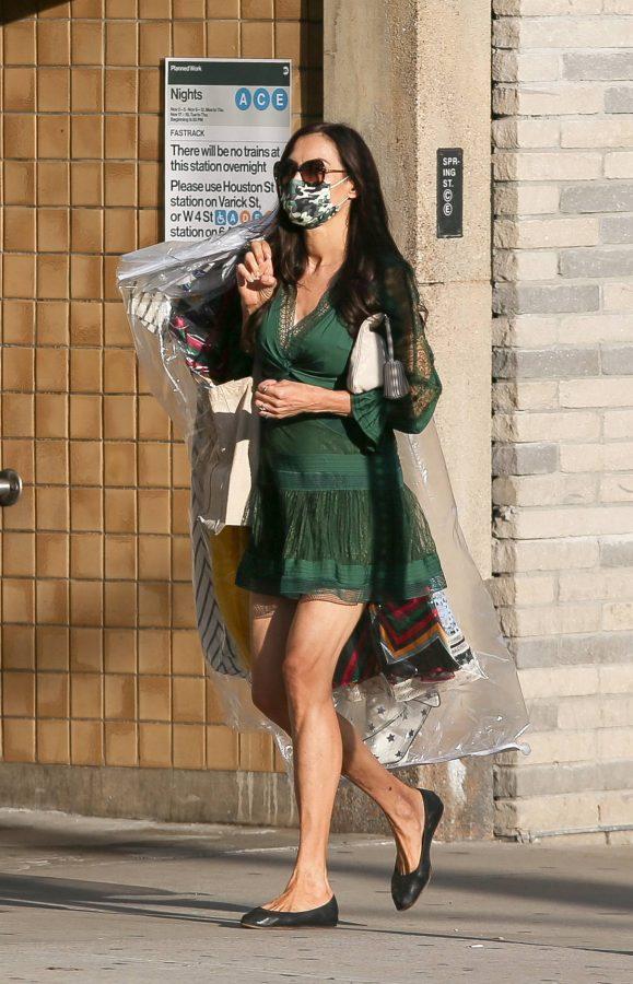 Famke Janssen Running errands on her birthday in New York 06