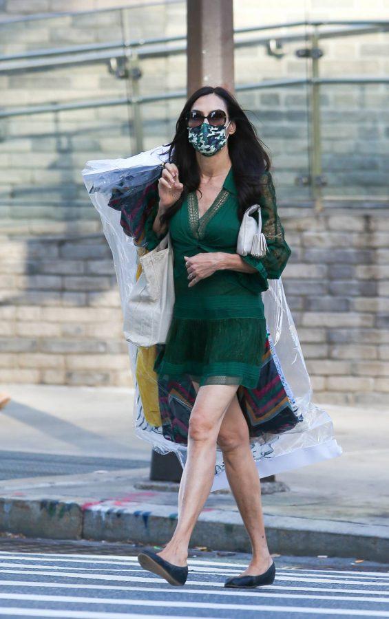 Famke Janssen Running errands on her birthday in New York 07