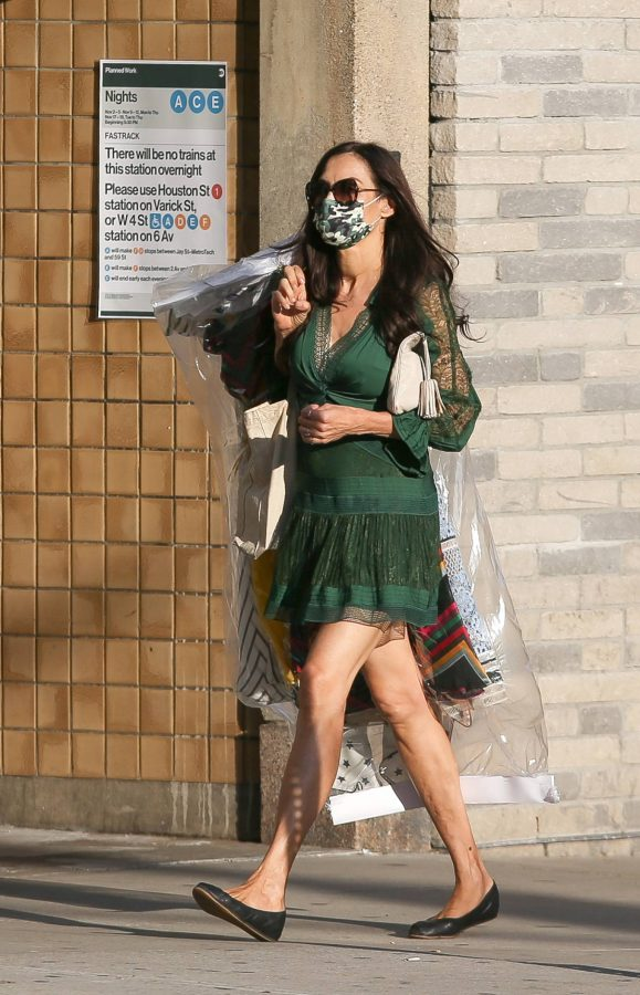 Famke Janssen Running errands on her birthday in New York 08
