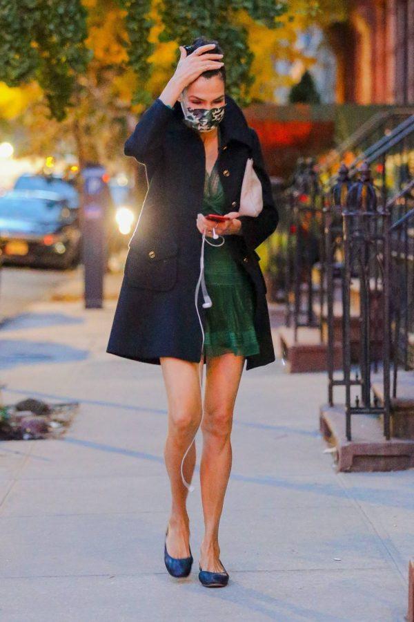 Famke Janssen Running errands on her birthday in New York 09
