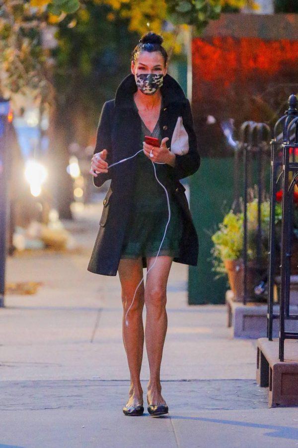 Famke Janssen Running errands on her birthday in New York 10