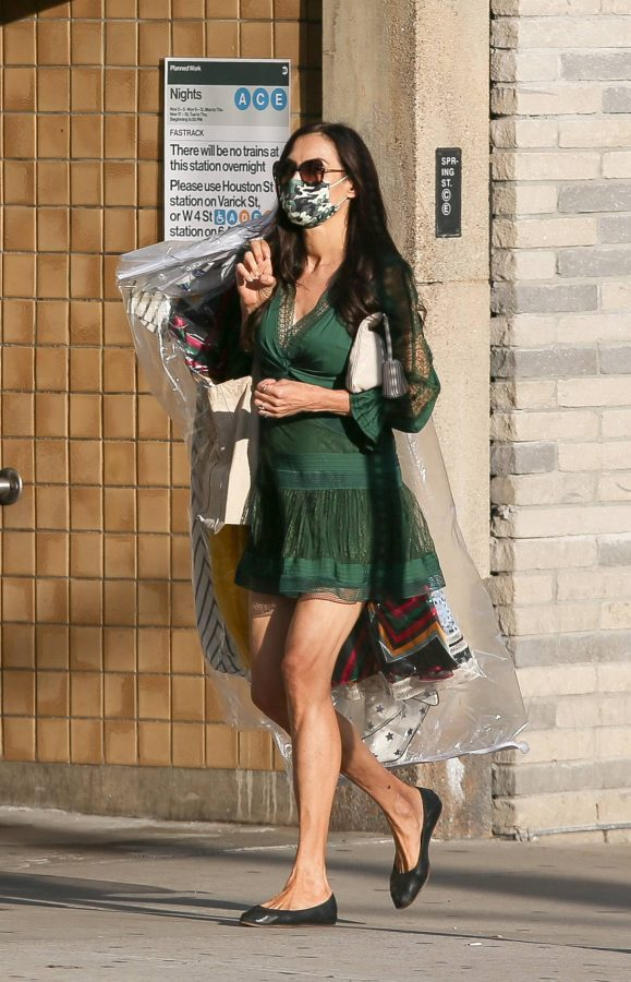 Famke Janssen Seen out and about in NYC 11