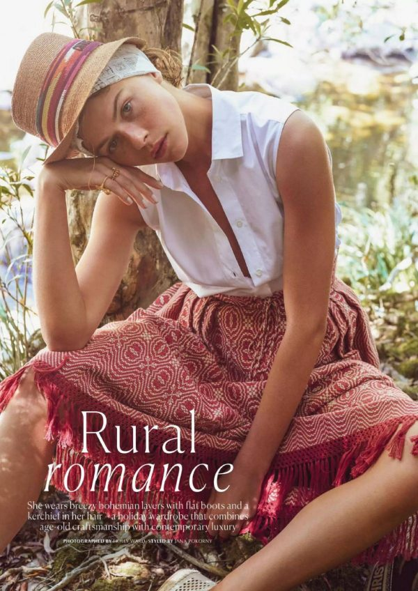 Georgia Fowler Marie Claire Magazine Australia December 2020 issue 08