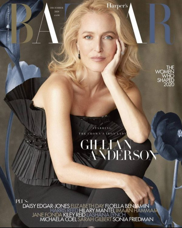 Gillian Anderson Harpers Bazaar magazine October 2020 04
