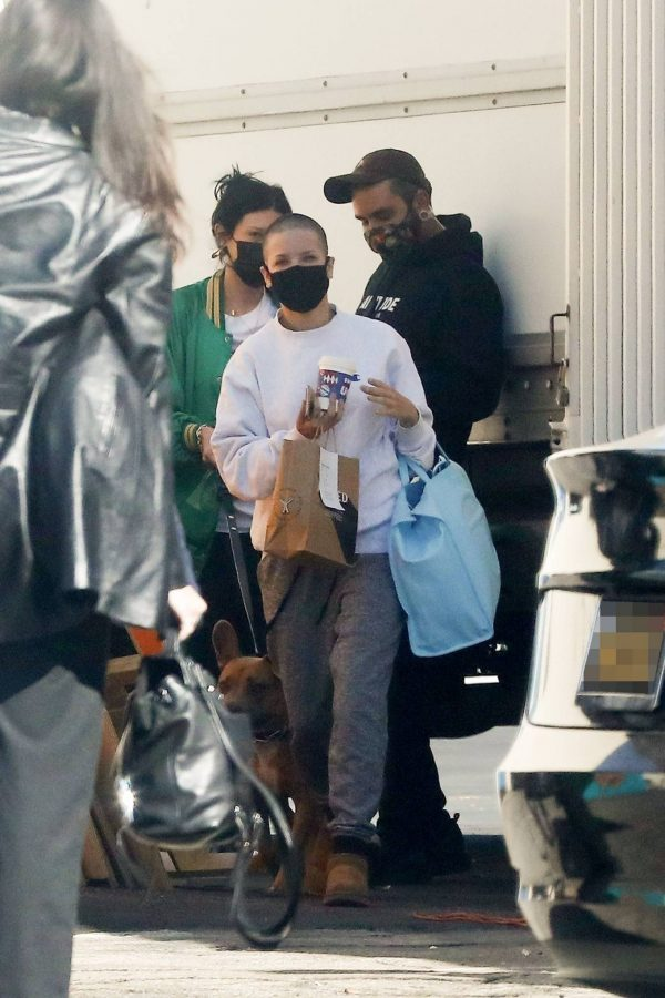 Halsey Seen at a studio in Los Angeles 03