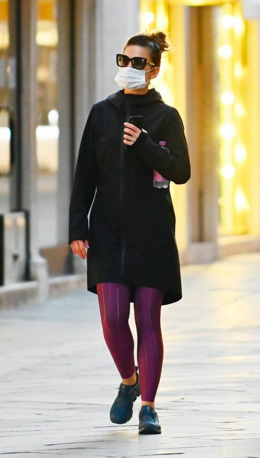 Hayley Atwell Seen during break from filming Mission Impossible 7 in Venice 11
