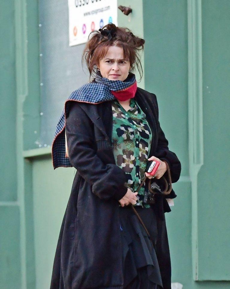Helena Bonham Carter with boyfriend Rye Dag Holmboe out in London 18