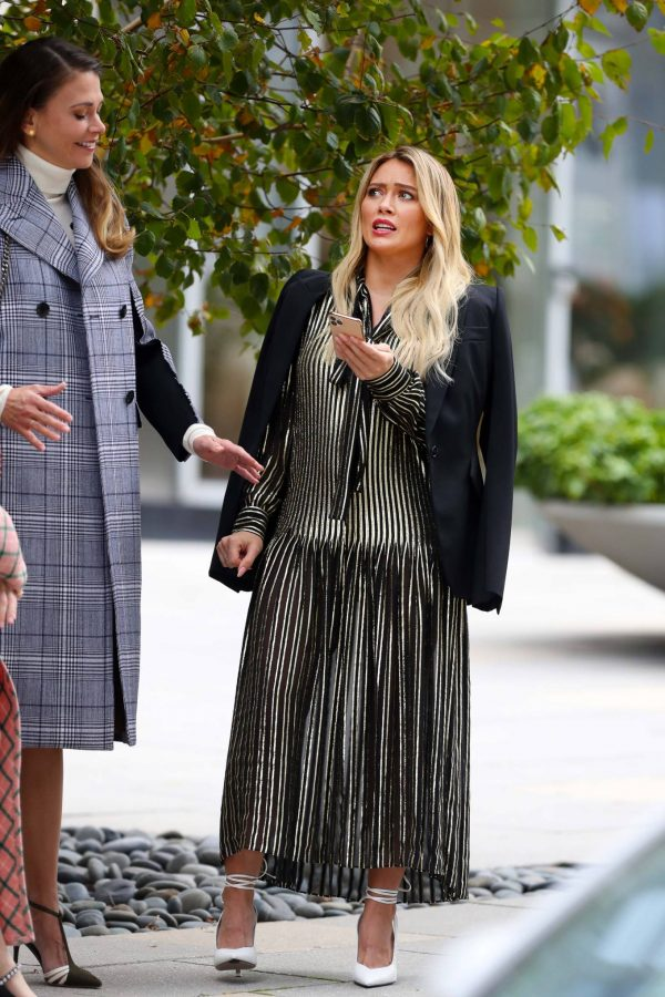 Hilary Duff Filming Younger in NYC 17