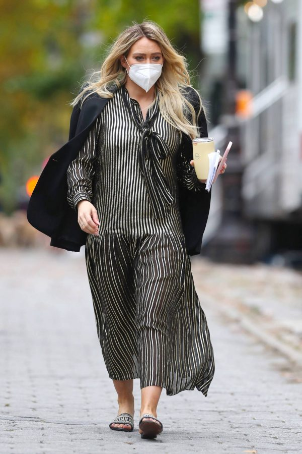 Hilary Duff Filming Younger in NYC 37