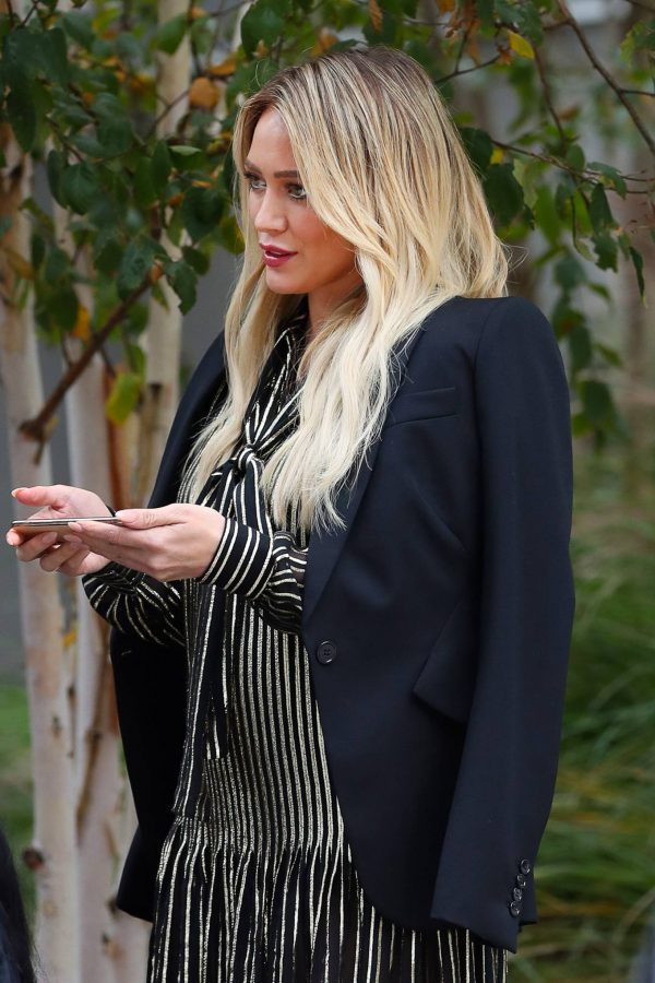 Hilary Duff Filming Younger in NYC 45