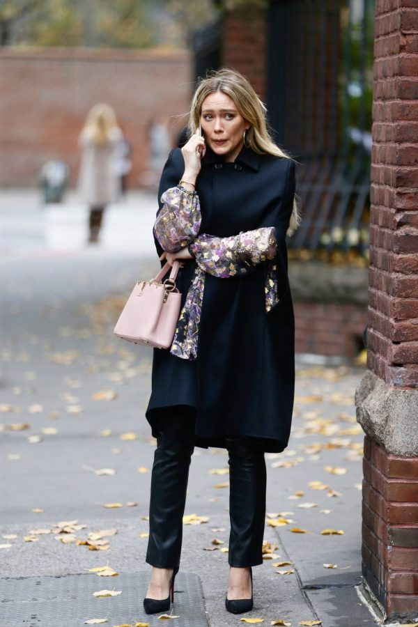 Hilary Duff Filming Younger in NYC 47