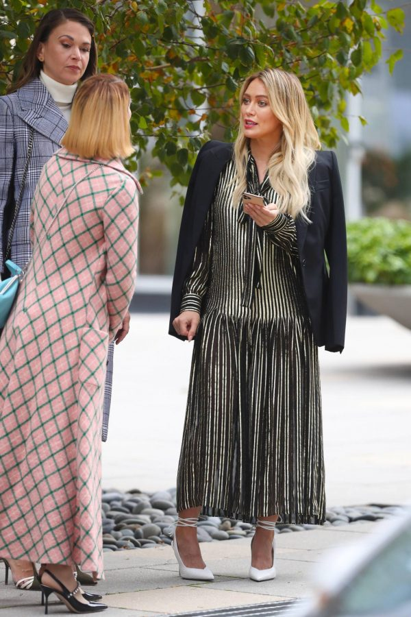 Hilary Duff Filming Younger in NYC 48