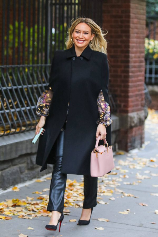 Hilary Duff Filming Younger in NYC 57